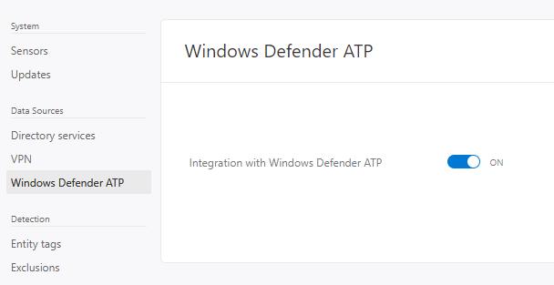 Microsoft 365 E5: Windows Defender ATP settings