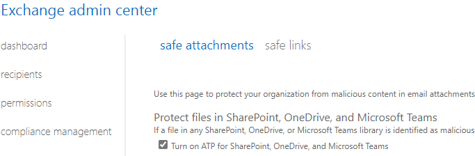 Microsoft 365 E5: How to enable safe attachments
