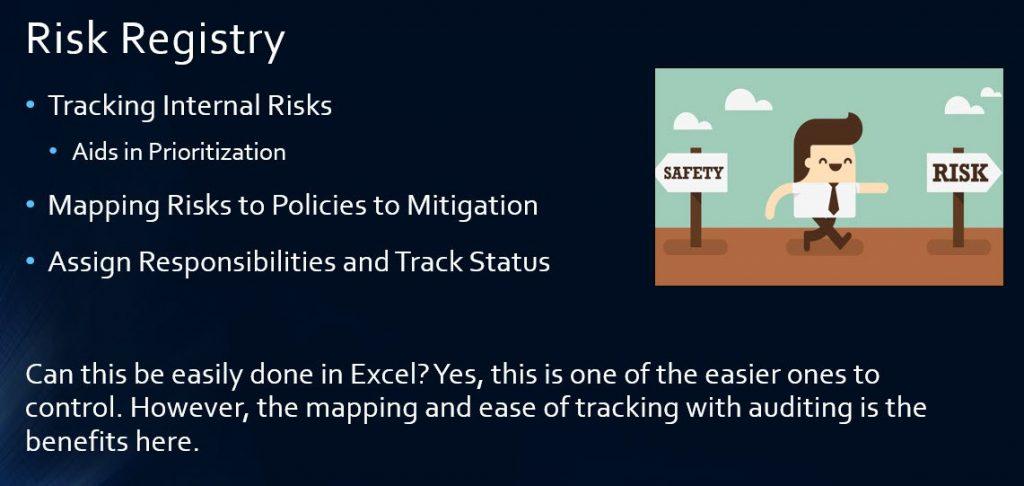 Slide C - GRC Solution Risk Registry